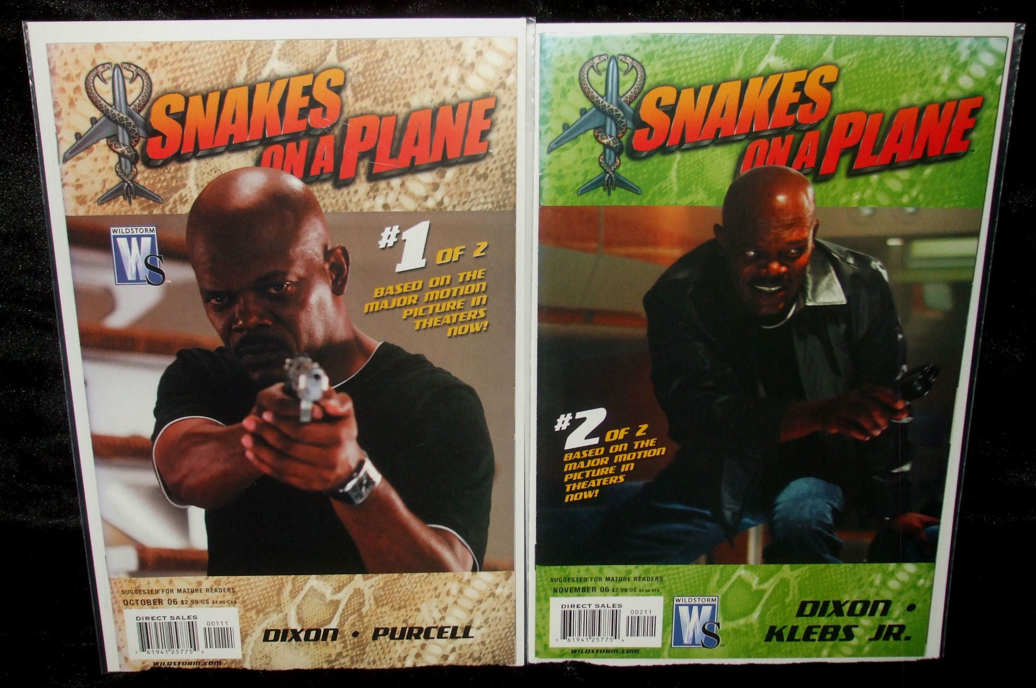 Snakes On A Plane - Issues 1  2 - Full Set Of 2 Comics-4535